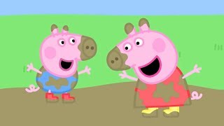 Download Peppa Pig Official Channel | Peppa Pig's Best Muddy Puddle Moments Video
