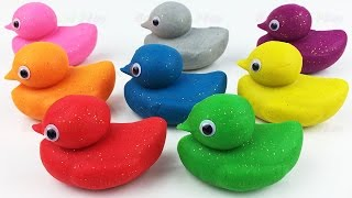 Download Learn Colors and Learn Numbers with Play Doh Ducks and Baby and Molds Video