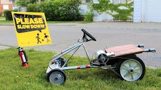 Download How to Make an Electric Go-Cart with ROCKET BOOST !!! Video