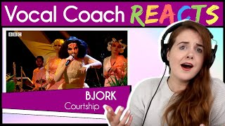 Download Vocal Coach reacts to Björk - Courtship on Later... with Jools Video
