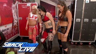 Download Ruby Riot, Liv Morgan & Sarah Logan emerge with a surprise attack: SmackDown LIVE, Nov. 21, 2017 Video
