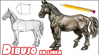 Download Como dibujar un caballo (explicado paso a paso) Video
