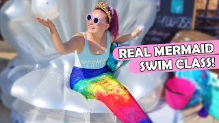 Download I Took A Real Mermaid Swimming Class! Video