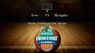 Download Emerald Coast Classic 2016 - Iowa vs Memphis Video