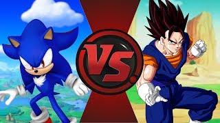Download SHADIC vs VEGITO! (Sonic: Nazo Unleashed DX vs Dragon Ball Super) Cartoon Fight Club Episode 199 Video