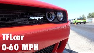 Download We test the 2015 Dodge Challenger Hellcat from 0-60 MPH over & over again Video
