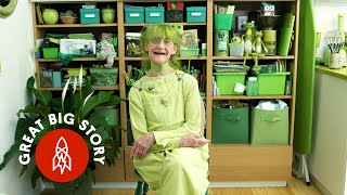 Download Green With Happiness: Meet the Jolly Green Lady of Brooklyn Video