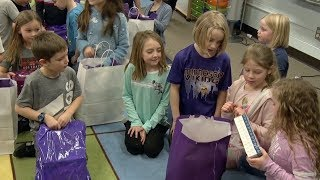 Download Affinity Plus Federal Credit Union Donates School Supplies To Schools In Bemidji Video