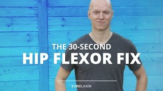 Download The 30-Second Fix for Tight Hip Flexors Video