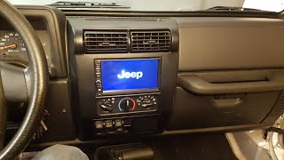 Download 97-06 Jeep Wrangler TJ Double Din Stereo Installation Android Navigation Video