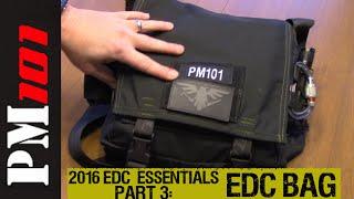 Download 2016 EDC Essentials: Pt 3: The EDC Bag - Preparedmind101 Video