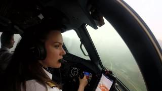 Download [Cockpit View] InterSky ATR72-600 VFR Valley Departure Sion (SIR/LSGS) Video