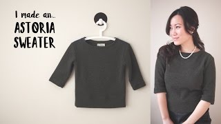 Download I made an Astoria sweater | #sewwithgerry Video