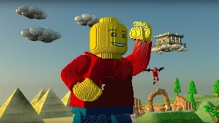 Download LEGO Worlds Official Console Announcement Trailer Video