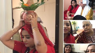 Download Jab Hum Sab Ek Saath Aaye - House Puja with Red & Yellow Family   Indian Mom On Duty Video