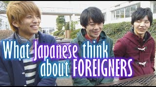 Download What Japanese think of foreigners (Their voices) 大学生インタビュー(外国人について) Video