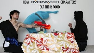 Download How Overwatch Characters Eat Their Food - With Lethal Soul Video