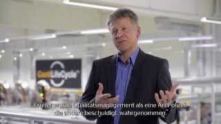 Download Management bei Continental: Jens Schoening, Leiter Qualitätsmanagement CVT Video