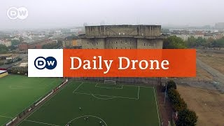 Download #DailyDrone: Flak tower IV in St. Pauli Video