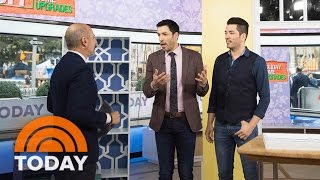 Download 'Property Brothers' Drew And Jonathan Scott Offer DIY Tips To Upgrade Your Home | TODAY Video