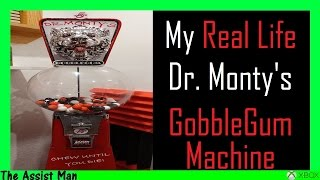 Download Creating A REAL LIFE Dr.Monty's GobbleGum GumBall Machine From Call Of Duty BO3 Zombies Video