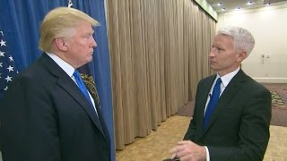 Download Donald Trump's interview with Anderson Cooper (Part 1) Video