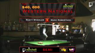 Download Rusty Wheeler v Marc Robertson | SEMI | Mitchell Billiards Western National 2016 Video