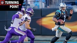 Download Cam Newton Puts the Team on His Back During Upset of Vikings (Week 14) | NFL Turning Point Video