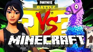 Download Minecraft: FORTNITE LUCKY BLOCK CHALLENGE | BATTLE ROYALE!! Video