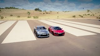 Download 2017 Acura NSX vs 2017 Nissan GT-R Drag Race | Forza Horizon 3 Video