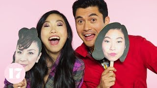 Download Henry Golding and Awkwafina from Crazy Rich Asians Play The Ultimate Superlative Challenge Video