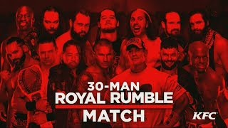 Download WWE Royal Rumble 2018 Official and Full Match Card Video