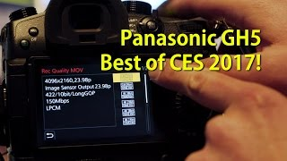 Download Panasonic GH5 & Atomos Shogun Inferno Hands-On! [Best of CES 2017] Video