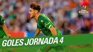 Download Todos los goles de la Jornada 04 de LaLiga Santander 2018/2019 Video