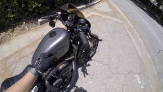 Download Iron 883 Exhaust Cobra Short 909 Before & After Video