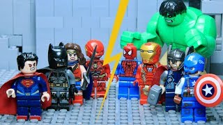 Download LEGO Justice League VS Avengers Part 1: Hulk VS Superman Video