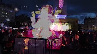 Download Diwali London 2018 Trafalgar Square Festival of Lights Video