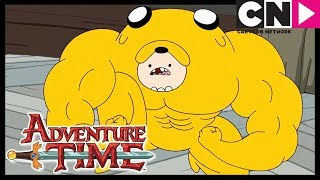 Download Adventure Time | Jake Tries on the Finn Suit | Cartoon Network Video