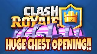 Download Merry Christmas!! HUGE CHEST OPENING - Clash Royale 😎 Video