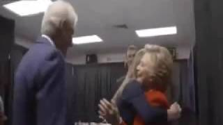Download Leaked Video Shows Bill & Hillary Clinton Celebrating Prematurely On Election Night! Video