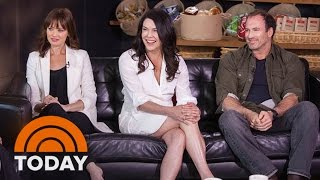 Download 'Gilmore Girls' Cast Reunite For 15th Anniversary | TODAY Video