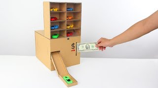 Download How to Make Amazing Car Vending Machine from Cardboard! Video