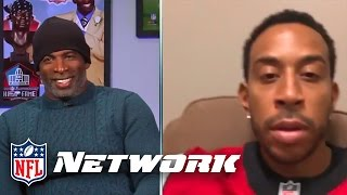 Download Deion Sanders Talks with Ludacris After Falcons Big Divisional Win | NFL Network | GameDay Prime Video