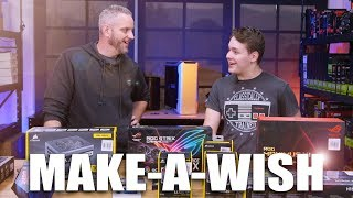 Download We made his wish come true! Gaming PC Shopping Spree! Video