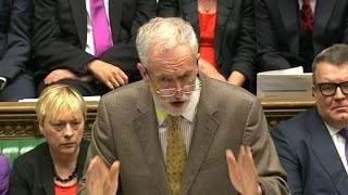 Download Jeremy Corbyn's debut at PMQs – video highlights Video