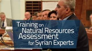 Download How did this training promote cooperation between different Syrian institutions? Video