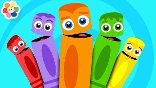 Download Colores en Español para niños   La Pandilla de Colores   Canciones de Colores de BabyFirst TV Video