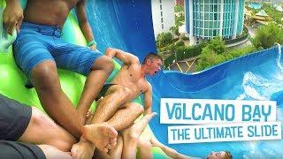 Download The Ultimate Water Slide | Volcano Bay Video