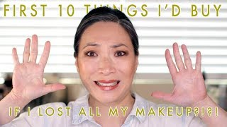 Download IF I LOST ALL MY MAKEUP - The First 10 Things I'd Buy Video