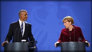 Download PATHETIC! OBAMA GOES OFF THE RAILS IN BERLIN, BLAMES FAKE NEWS - NOT HILLARY - FOR TRUMP WIN Video